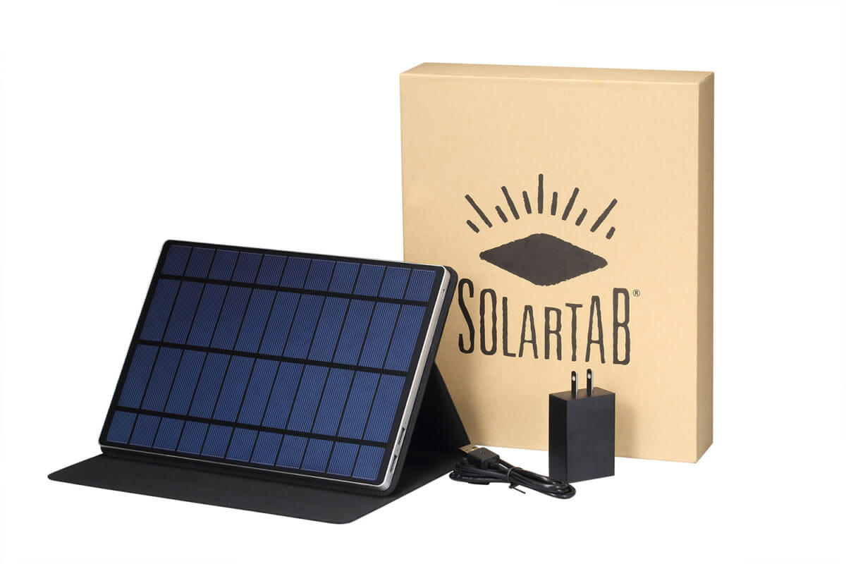 solartab and box