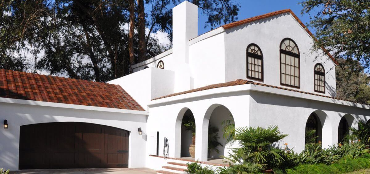 Tuscan Glass Tile Roof