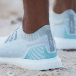 adidas ocean plastic shoes worn on beach