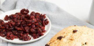 vanilla cranberry quickbread