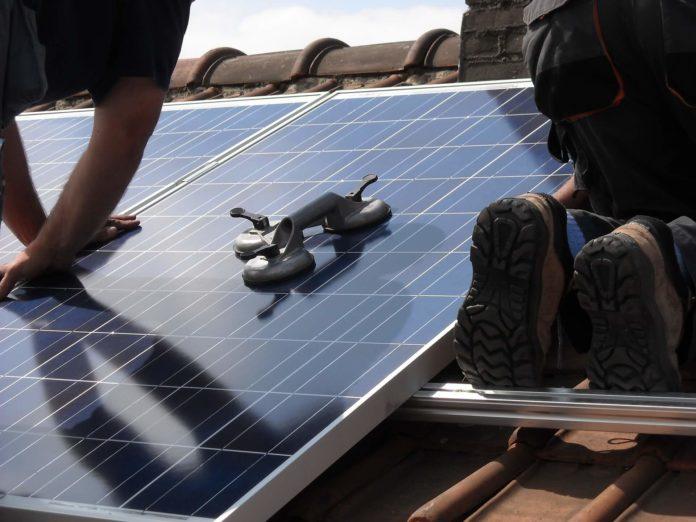 install solar panels on house