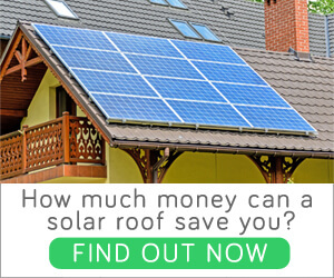 how much money can a solar roof save you?