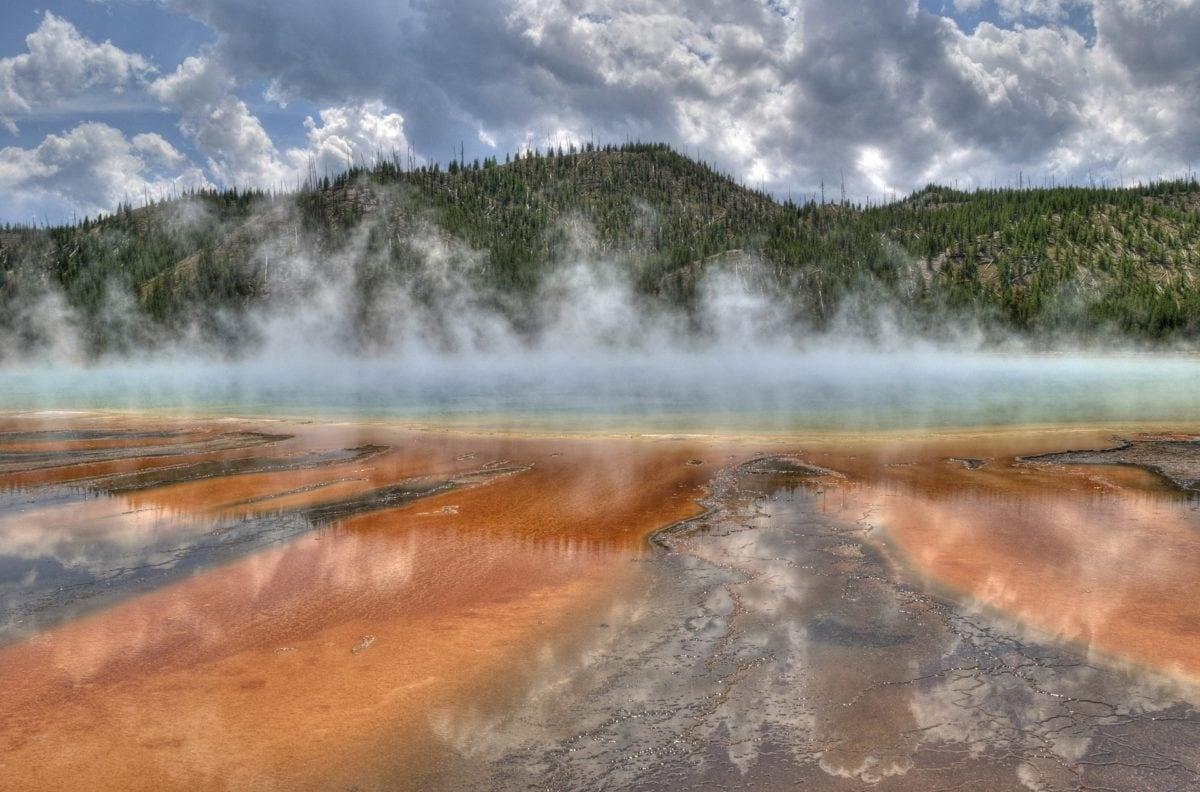 geothermal spring