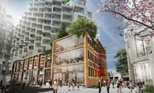 Toronto King West green architecture design by Bjarke Ingels