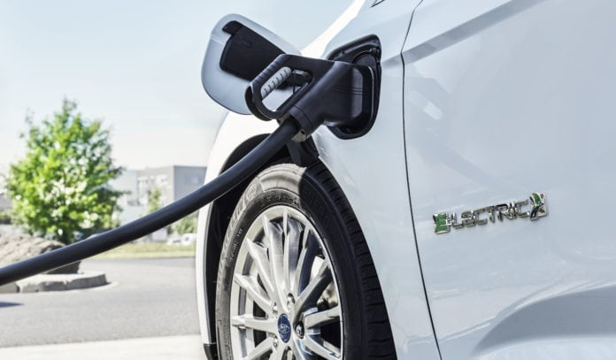 2017 Ford Focus Electric Charging