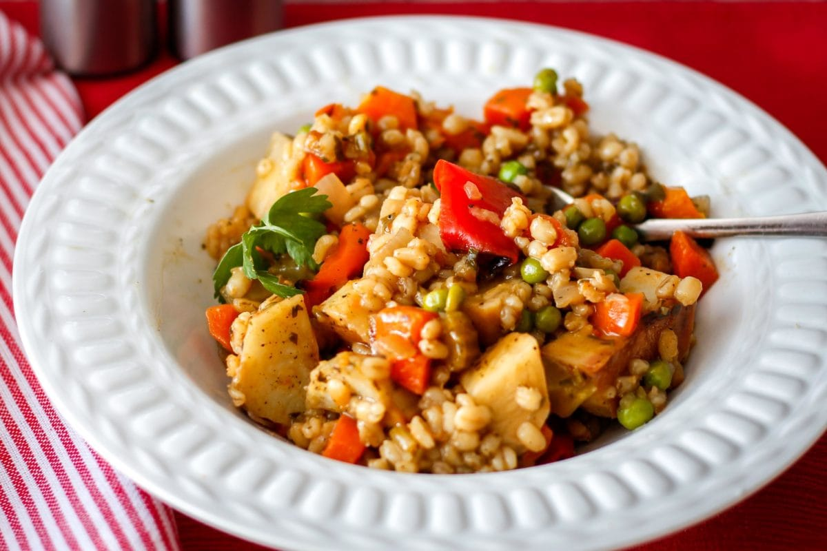 Barley and Vegetable Stew