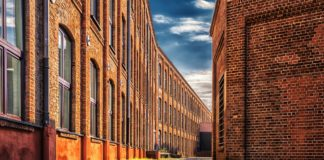 Red Brick Factory Exterior