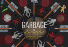 garbage is beautiful