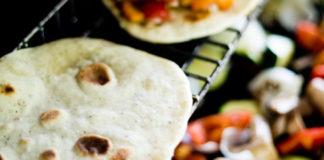 quick rise garlic naan bread