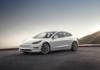 Tesla Model 3 in Mountain Pearl
