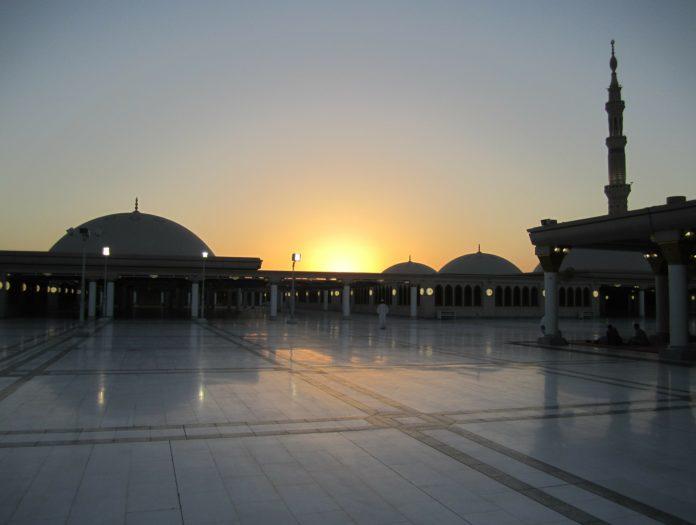 Saudi Arabia sunrise