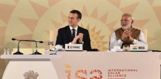 France and India make solar agreement