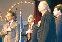 Arnold Schwarzenegger Naturalization Ceremony