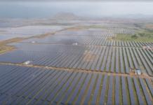 Pavagada solar park in India