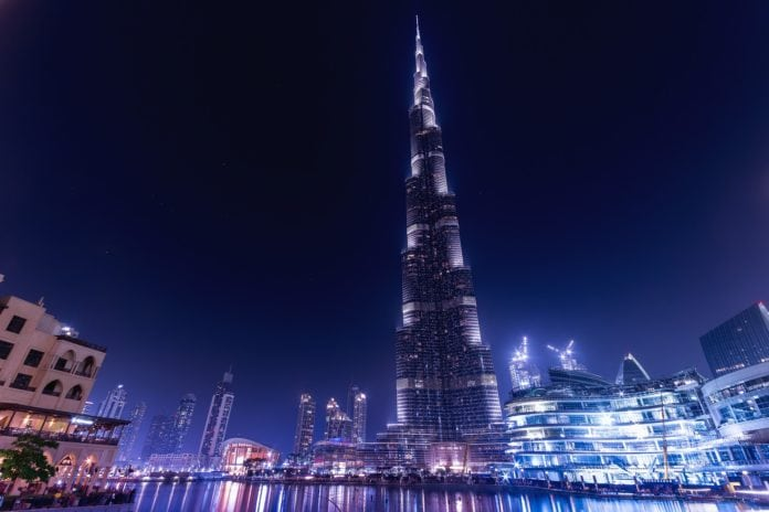 Burj-Khalifa in Dubai