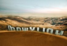 climate change drought near California hollywood sign