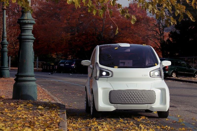 LSEV 3D printed electric vehicle