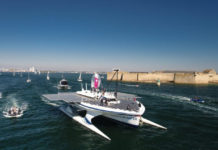 Race for Water Solar panel boat