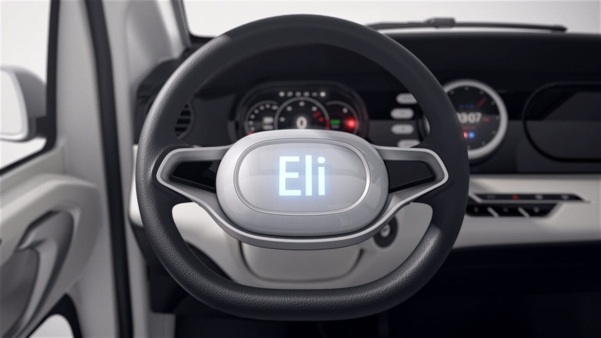 Eli ZERO - Steering Wheel