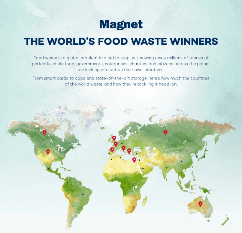 World Food Waste An Infographic Guide To Global Food