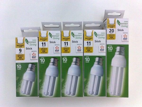 tesco energy saving lightbulbs