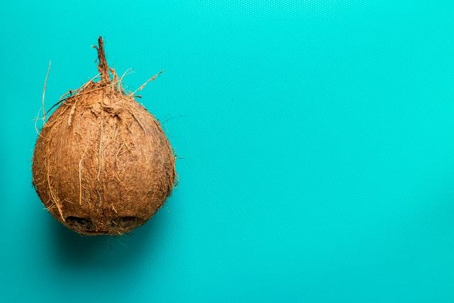 coconut - fiber rich foods