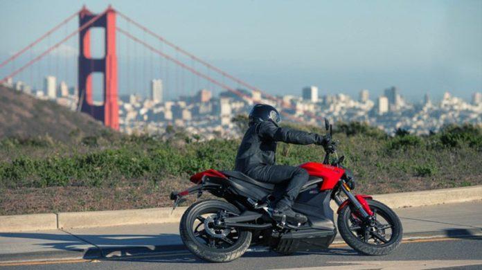 Zero Motorcycles SR model