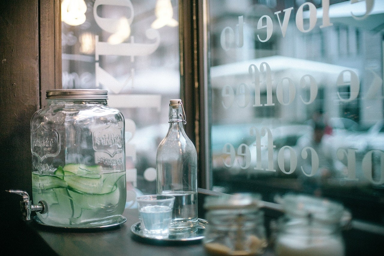 infused water sustainable