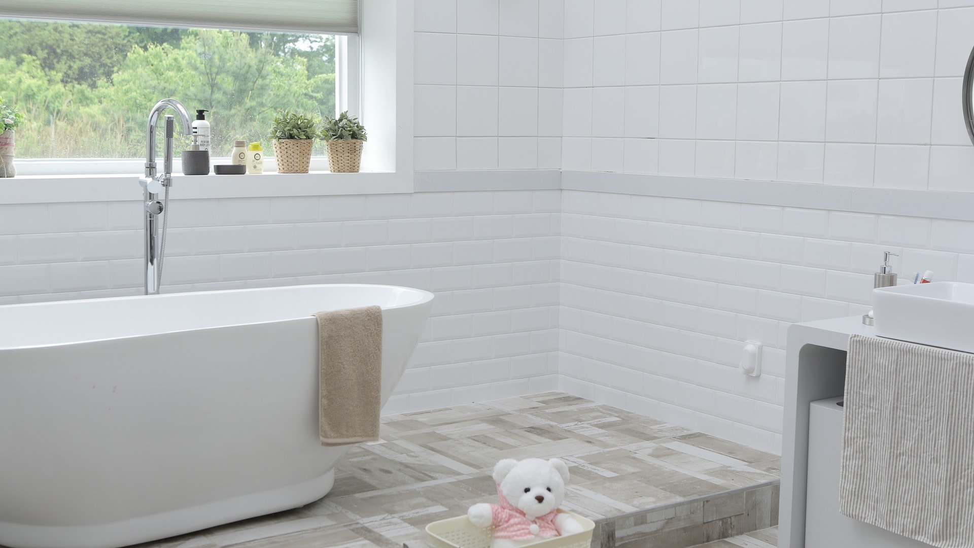Environmentally Friendly Bathroom