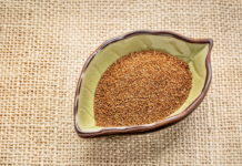 teff grain in a bowl