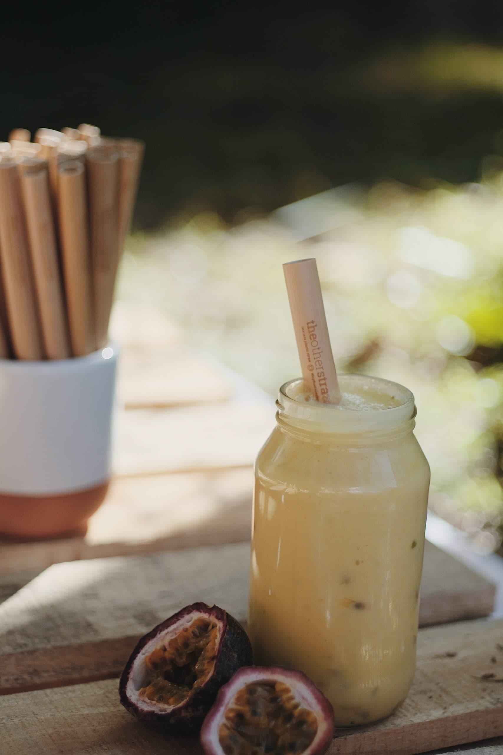 creamy vanilla mango smoothie recipe
