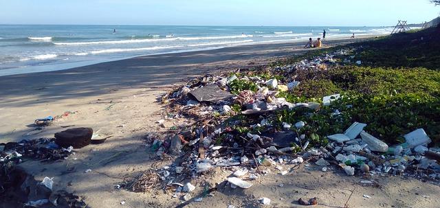 plastic pollution - top environmental concerns 2021
