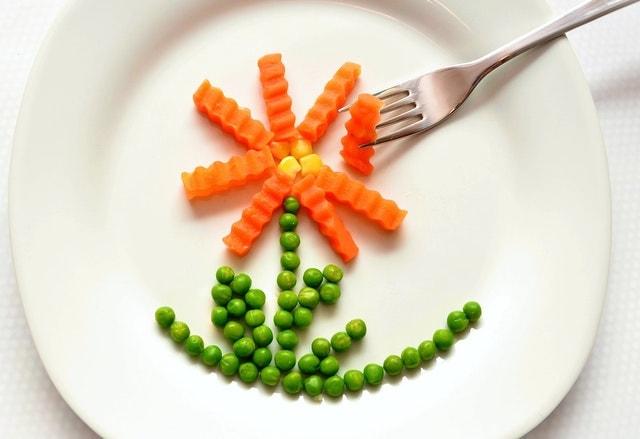 Vegan Prebiotic Foods - peas