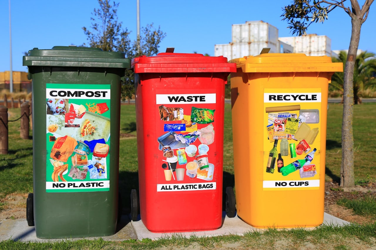 recycling - go green and protect environment