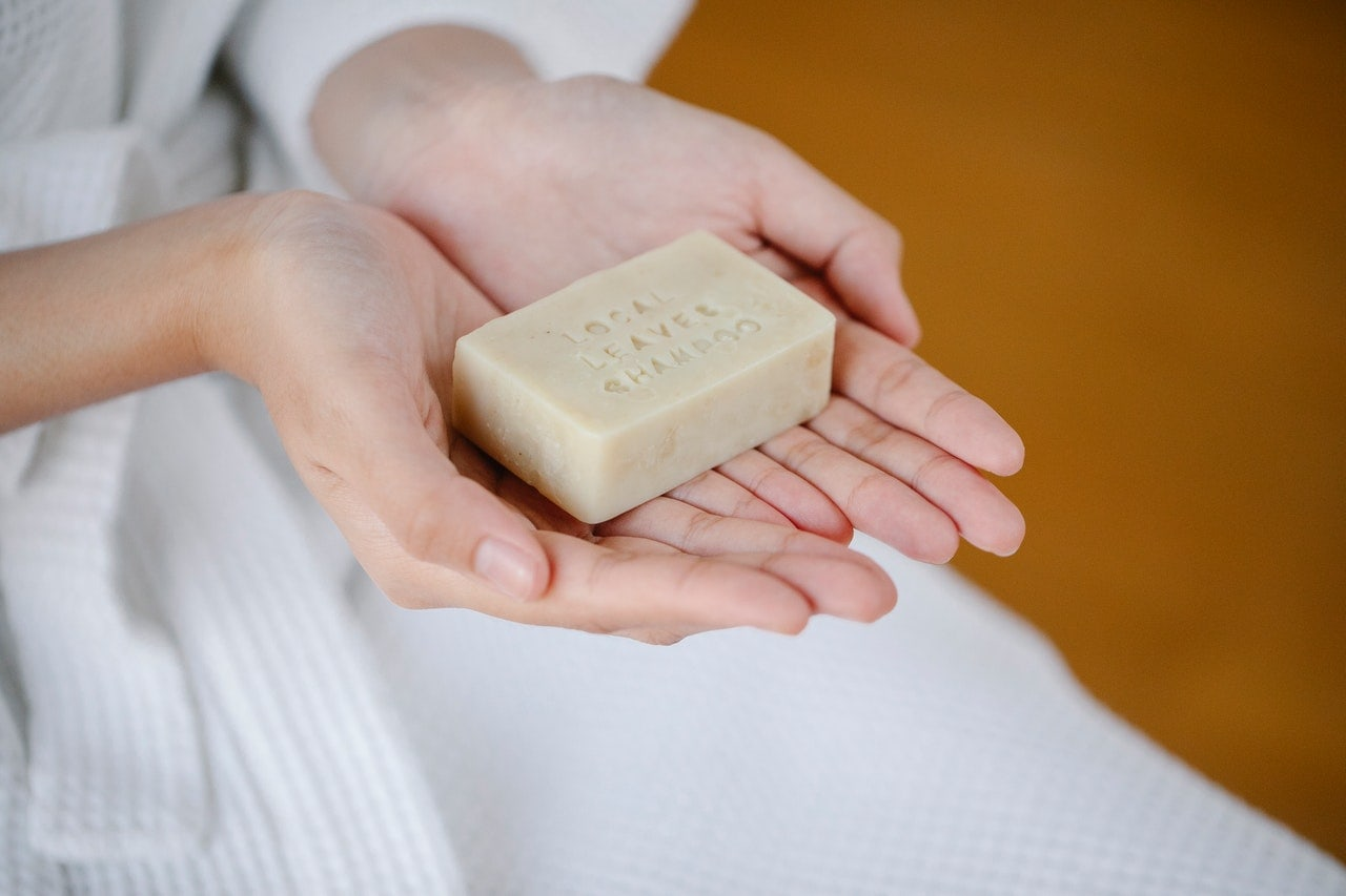 try shampoo bar for a low waste lifestyle